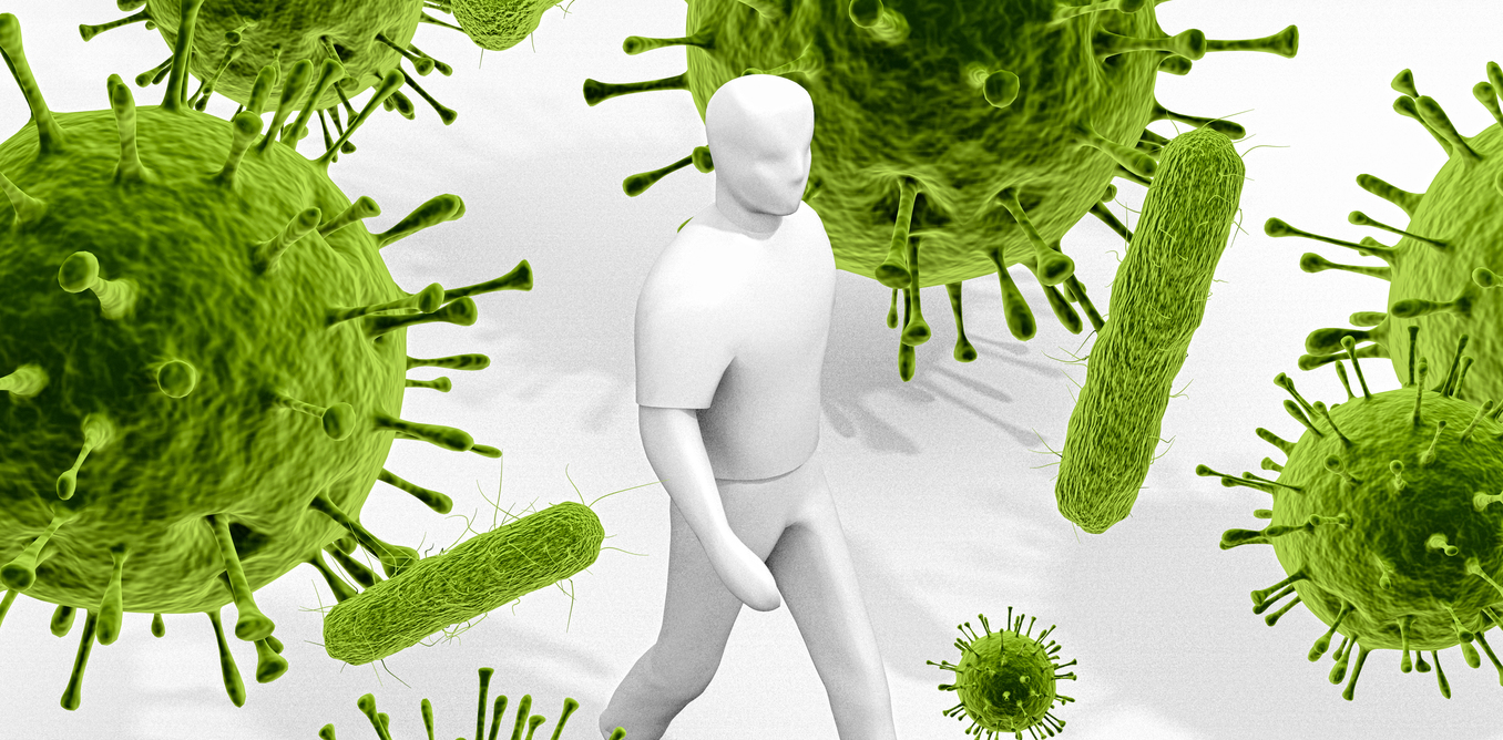 Картинка бактерий и микробов